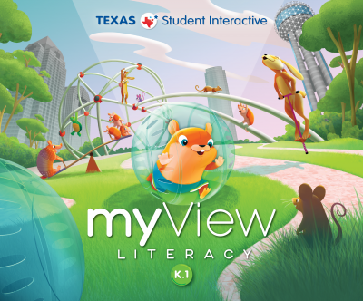 myView Literacy K cover